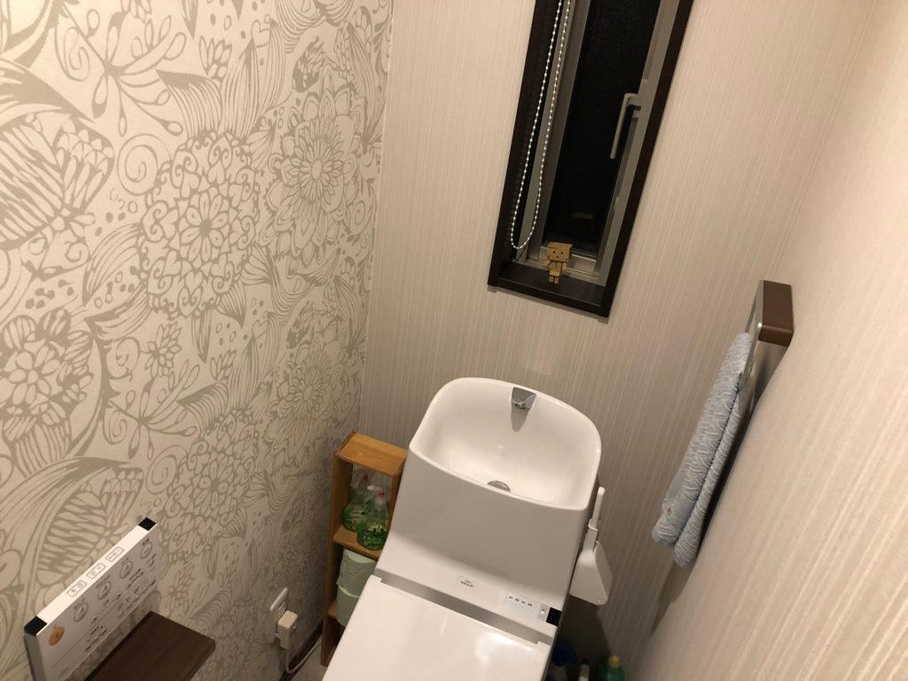 iPhone8でトイレを撮影