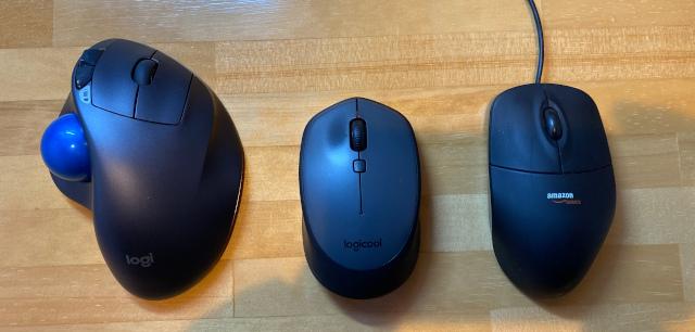 マウス大きさの比較