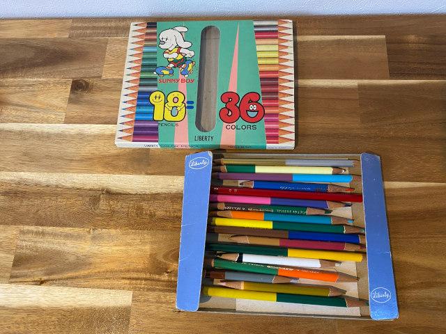 使用した色鉛筆