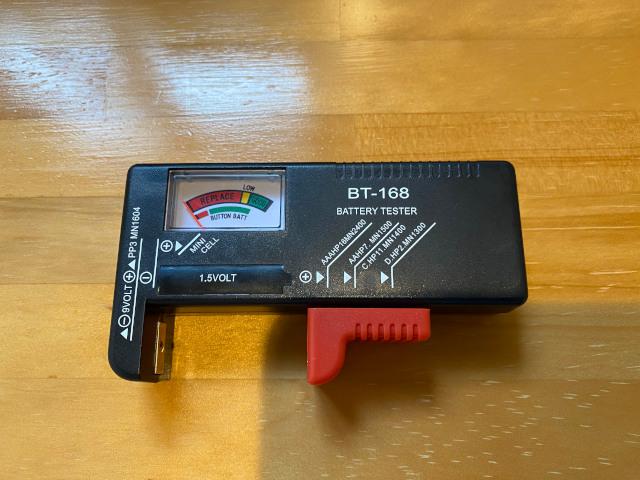 電池残量チェッカー