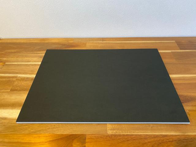 反射を防ぐ黒いボード