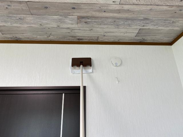 壁紙や天井の掃除