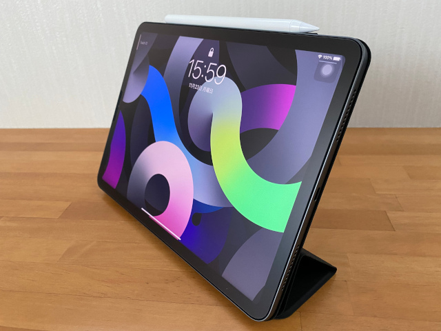 iPad Air4用ケースをレビュー