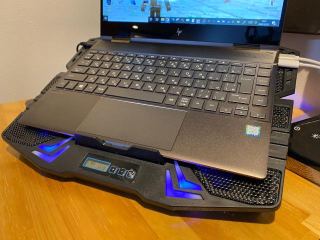 ノートパソコン冷却台