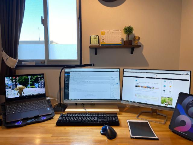 PC周りの作業環境