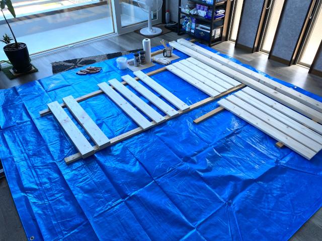 木材を準備